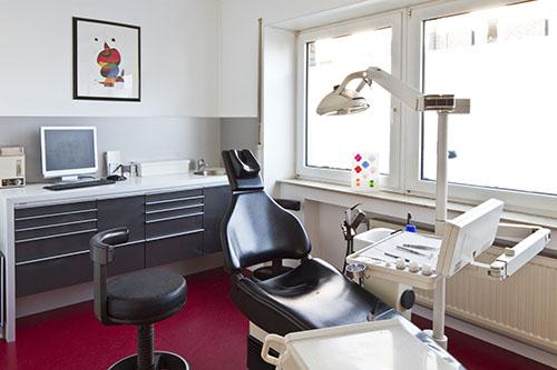 Ein weiteres Behandlungszimmer